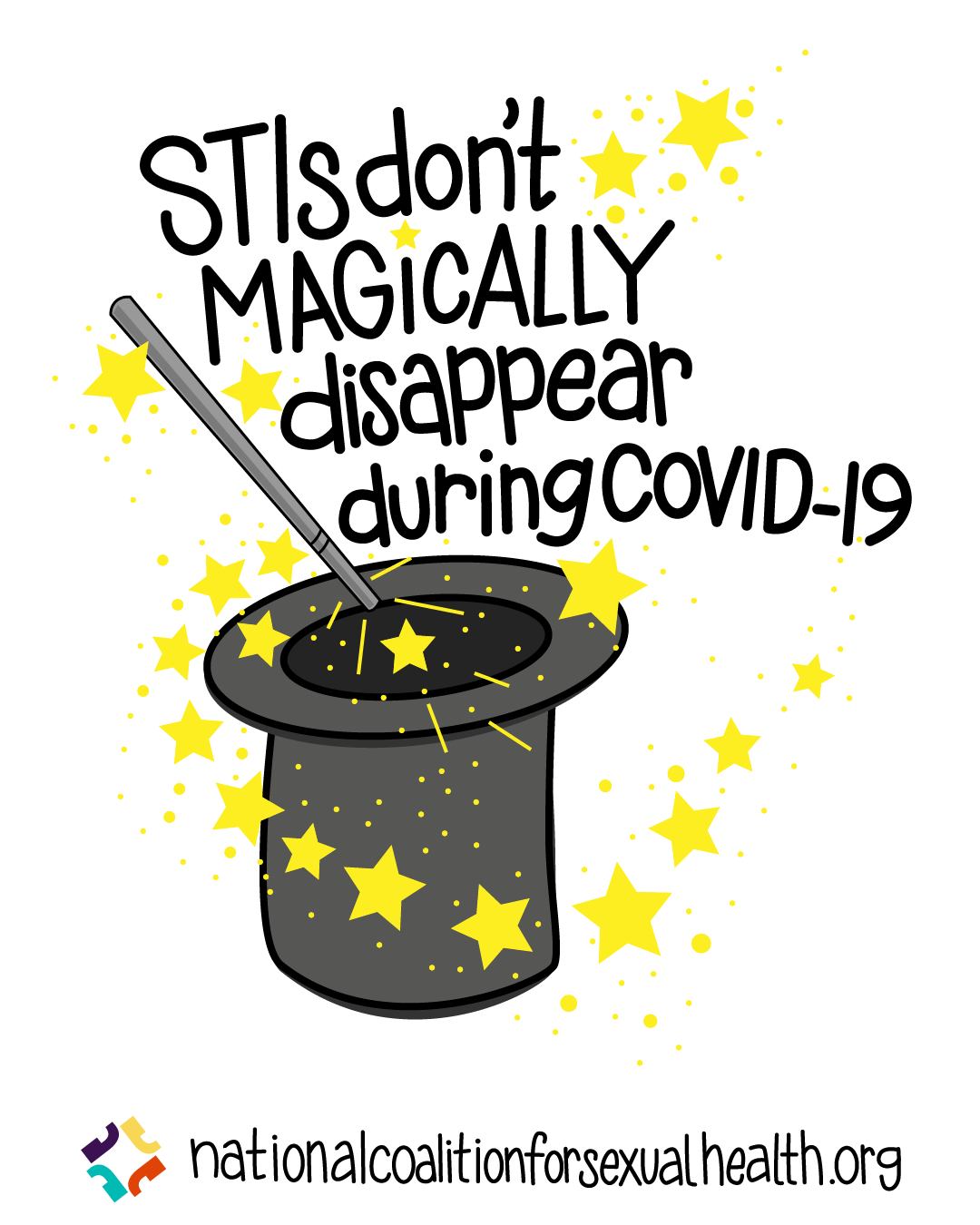 STIs don't magically disappear during COVID-19